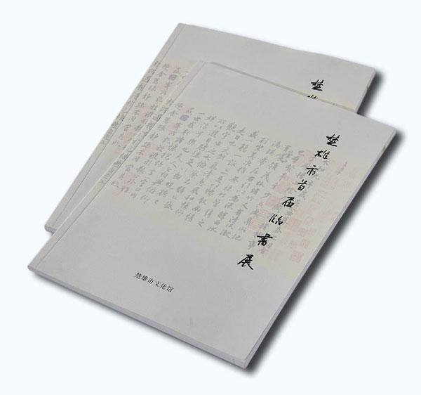 书法展画册